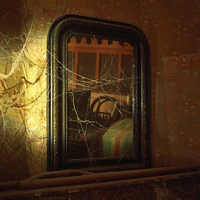 Vintage mirror - p813m900250 by B.Jaubert