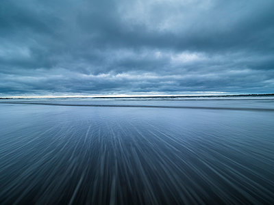 New Zealand, North Island, Taranaki, Opanake Beach, long exposure - p300m2013043 by Stefan Schurr