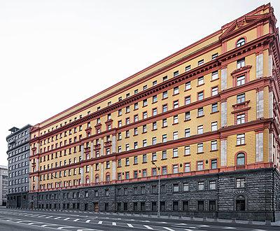 Lubjanka, früheres Hauptquartier des russischen Geheimdienstes - p390m2172921 von Frank Herfort