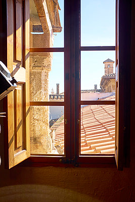 Rooftops in Palma de Majorca - p885m1424893 by Oliver Brenneisen