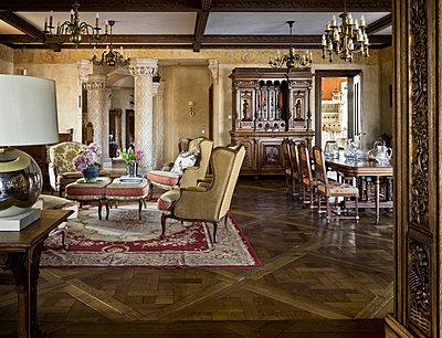 Noble living-room - p3900335 by Frank Herfort