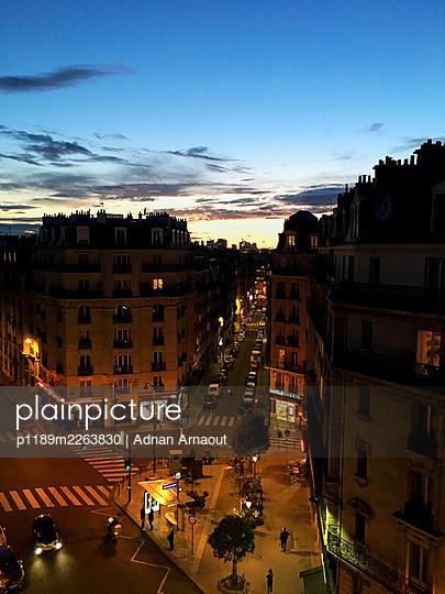 France, Paris, Sun will go down - p1189m2263830 by Adnan Arnaout