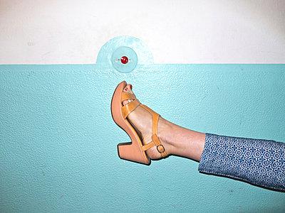 Sandale mit Absatz - p978m900539 von Petra Herbert