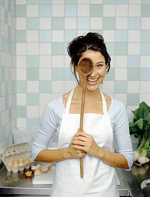 Spaß beim Kochen - p4470211 von Anja Lubitz