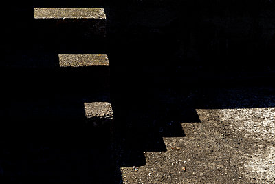 Abstract stairs - p1329m2161176 by T. Béhuret