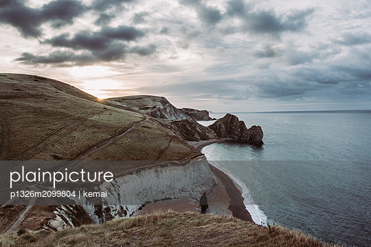 View over the Jurassic Coast - p1326m2099804 by kemai