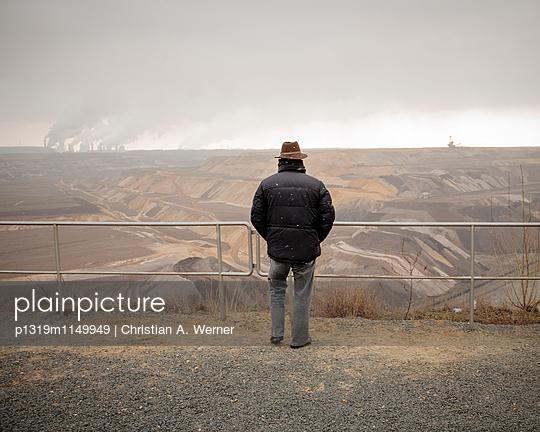 Blick auf den Tagebau Garzweiler - p1319m1149949 von Christian A. Werner