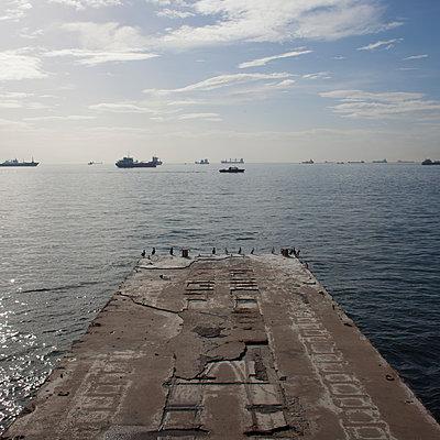 Ponton am Marmarameer - p1138m971483 von Stéphanie Foäche