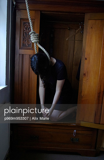 Hanged Woman - p969m953307 by Alix Marie