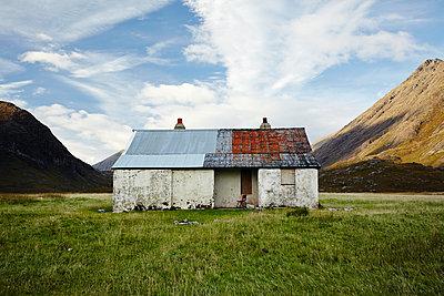 Hütte auf Skye, Camasunary - p1145m1590891 von Kerstin Lakeberg