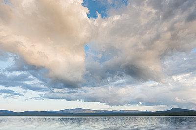 Lake in Jamtland, Sweden - p352m1536559 by Calle Artmark
