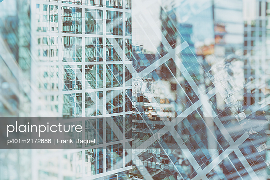 High-rise buildings - p401m2172888 by Frank Baquet