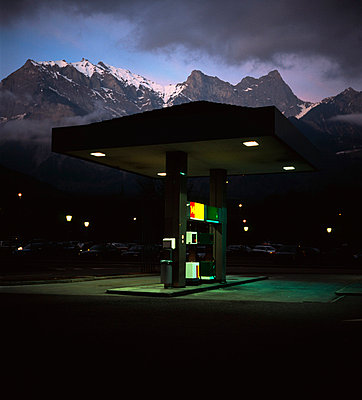 Motorway station - p26811390 by Sorin Morar