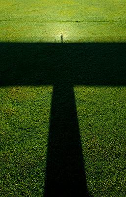 Self portrait standing on a bridge - p1132m925505 by Mischa Keijser