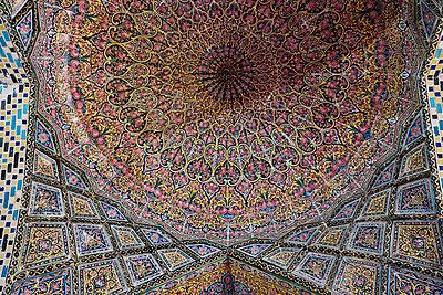Nasir ol Molk Moschee, Pink Moschee - p1146m1445129 von Stephanie Uhlenbrock