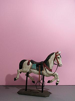 Vintage horse model - p1499m2013469 by Marion Barat