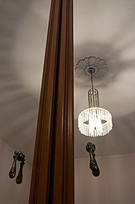 Closet mirror and chandelier - p564m734988 by Dona