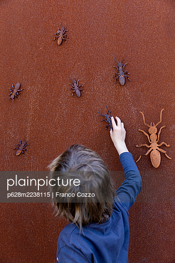 Australia, Melbourne, Rusty ants - p628m2238115 by Franco Cozzo