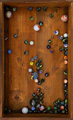 Marbles - p1657m2272048 by Kornelia Rumberg