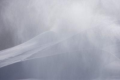 Artificial snow - p8670159 by Thomas Degen