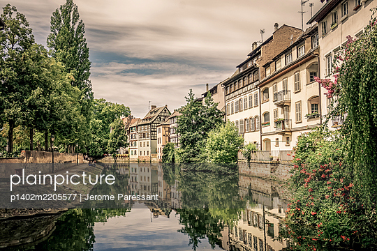 France, Strasbourg, La Petite France - p1402m2205577 by Jerome Paressant