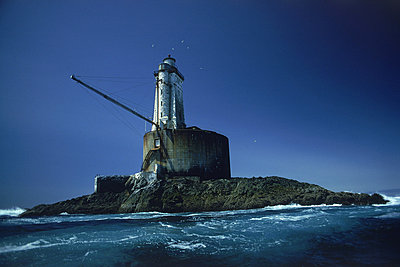 St. George Reef Lighthouse 6 miles off Cresent City in Northern California - p34811075 by Chad Ehlers