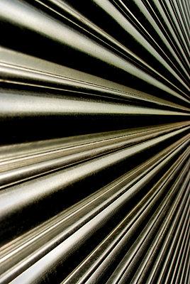 Tubular metal shutters - p5970296 by Tim Robinson