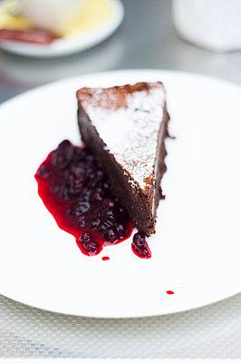 Kuchen mit Preiselbeeren - p947m1041317 von Cristopher Civitillo