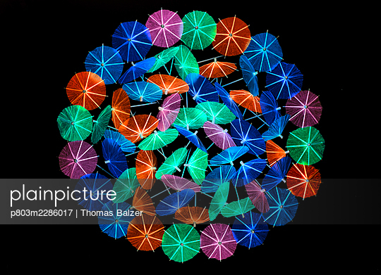 Cocktail umbrellas - p803m2286017 by Thomas Balzer
