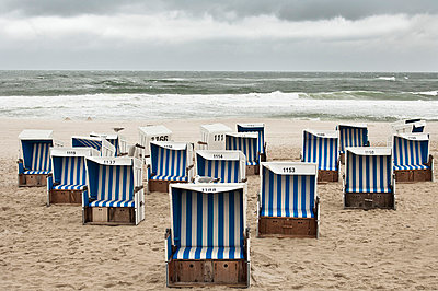On a beach in autumn - p7670042 by vonwegener.de