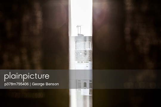 Light coming through curtains - p378m795406 by George Benson