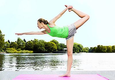 Yoga - p1076m851648 by TOBSN