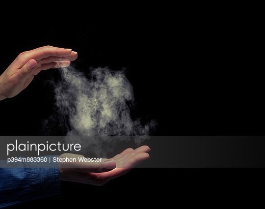 Holding Smoke - p394m883360 by Stephen Webster