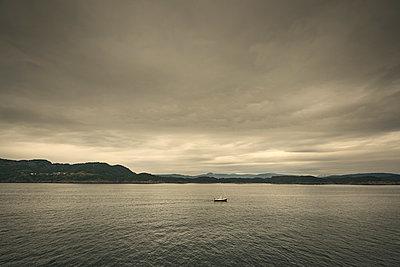 Boot auf dem Vidafjord - p1200m1069676 von Carsten Görling