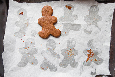 Cookie on Parchment Paper - p1262m1083716 by Maryanne Gobble
