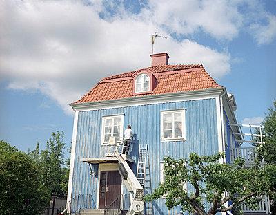 Haus renovieren - p3380185 von Marion Beckhäuser