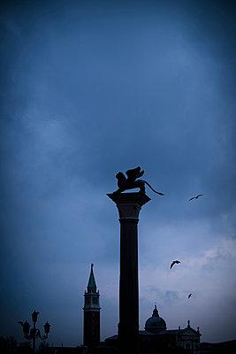 Markuslöwe in Venedig - p1149m1332981 von Yvonne Röder