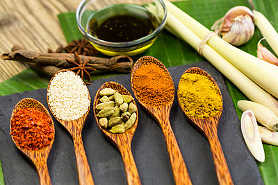 Different spices - p300m998062f by JLPfeifer