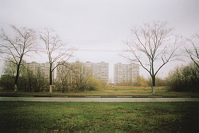 Skyline of Moscow suburbs - p388m877131 by Jim Green
