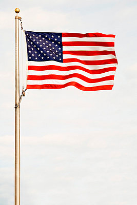 American flag - p4425536f by Design Pics