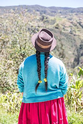 Woman in Ecuador - p940m1480770 by Bénédite Topuz