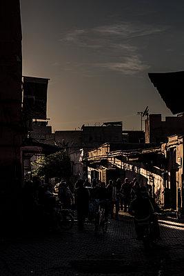 Abendstimmung in Marrakesch - p1243m1516709 von Archer