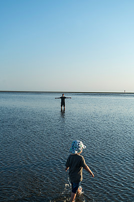 Nordsee bei Ebbe - p427m2013597 von Ralf Mohr