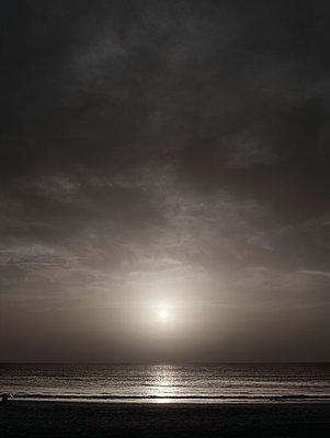 Strand, Carcans Plage - p1145m954964 von Kerstin Lakeberg