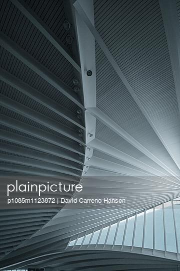 Grafisches Flughafendach - p1085m1123872 von David Carreno Hansen