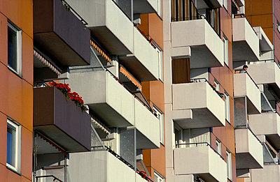 Balkone - p0190029 von Hartmut Gerbsch
