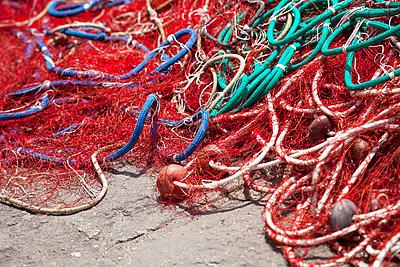 Fischernetz - p712m1541268 von Jana Kay
