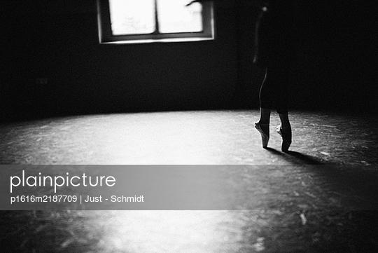 Ballerina on tiptoes - p1616m2187709 by Just - Schmidt