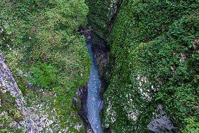Tolmin-Klamm, Slowenien - p1394m2160807 von benjamin tafel