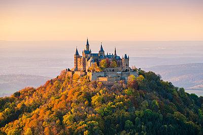 Hohenzollern Castle, Hechingen, Baden-Württemberg, Germany. - p651m2007327 by Marco Bottigelli